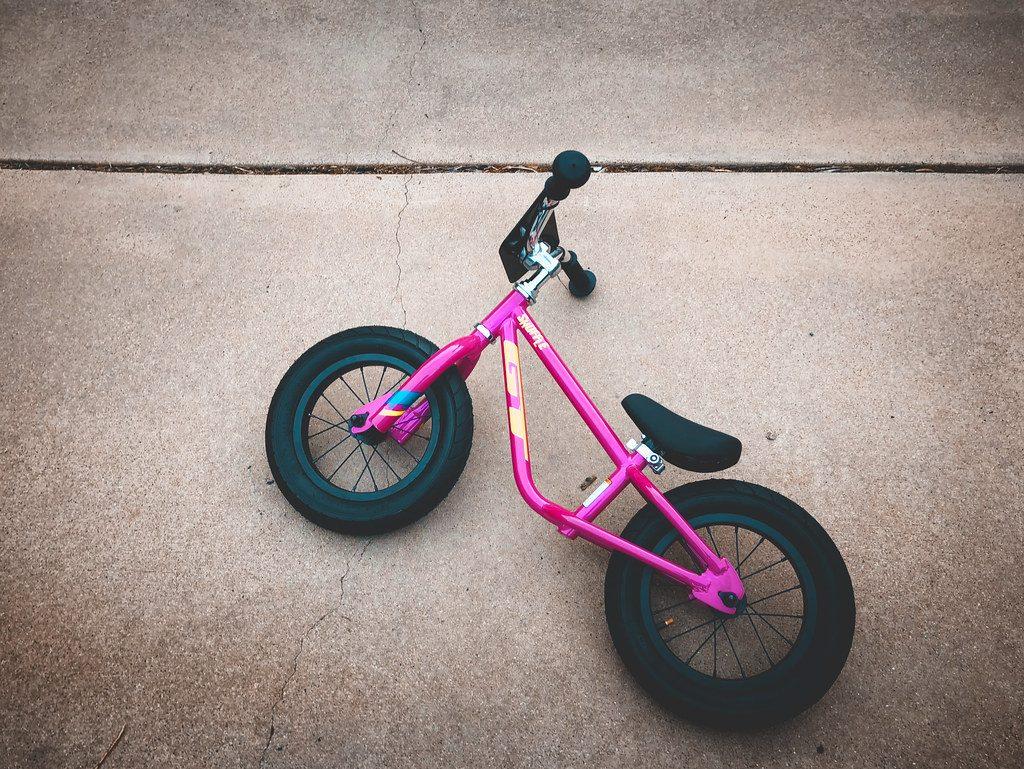 bici sin pedales rosa para nina