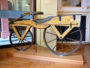 dandy horse o bici sin pedales de 1820
